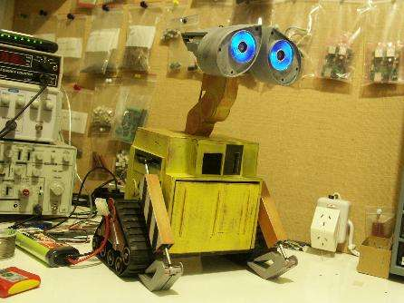 DIY - How to Make your own Pixar Wall-E Robot!
