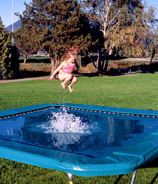Water Trampoline For Tramps!