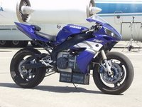 Yamaha R1 Converted to an Electric Bike Still Does 54HP!