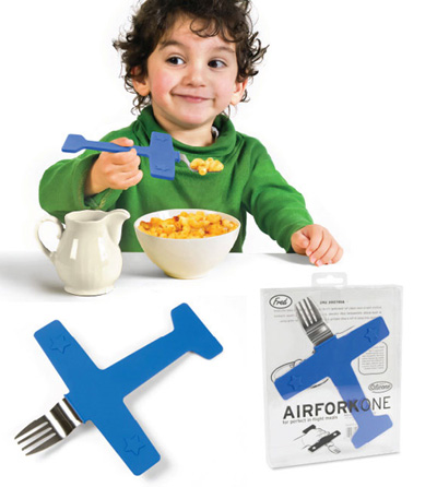 Airplane Fork for Kids!