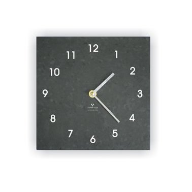 A Clock Made from Recycled Coffee Cups!