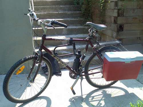 DIY - Drink and Party by making yourself a Bike Cooler!
