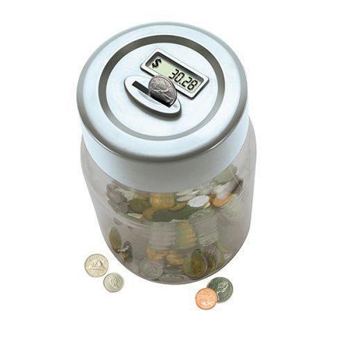 Digital Coin Counting Money Jar!