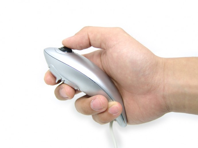 Fish Handheld Mouse needs no Mouse Surface!