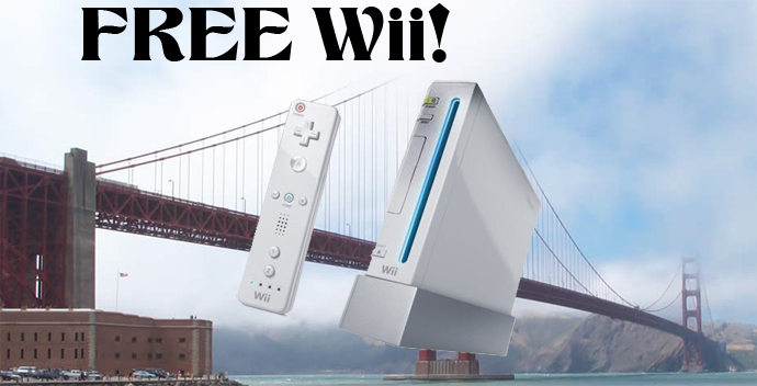 Free Wii in San Fran from Comcast