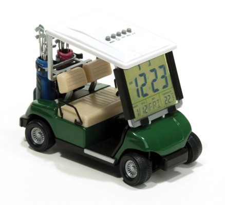 Golf Cart Clock!