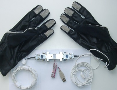 DIY - USB Data Gloves with Control Device!