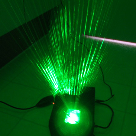 Music-Syncing Green Laser Projector