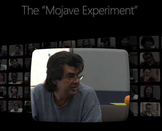 Windows Vista Mojave Experiment