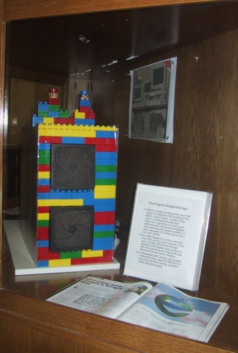 Original Google Storage Server Made with Legos!