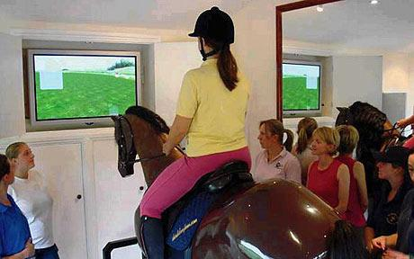 RideMaster - Virtual Horseback Riding Trainer!