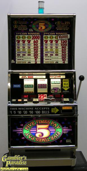 Slot machines for sale used helping people with gambling addictions