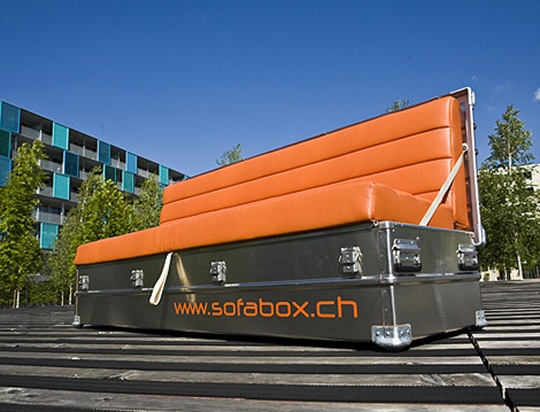 SofaBox is not really a box you can carry around!