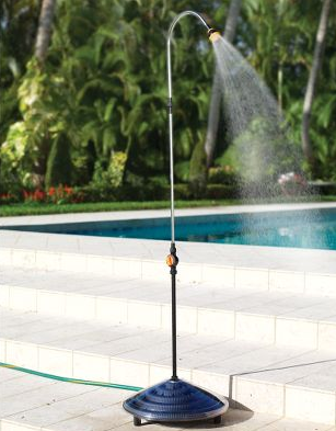 Solar Shower gives you Hot Showers Outdoors!