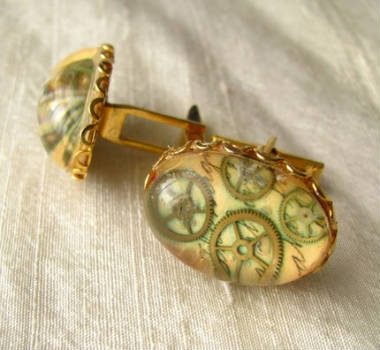 Steampunk Cufflinks!