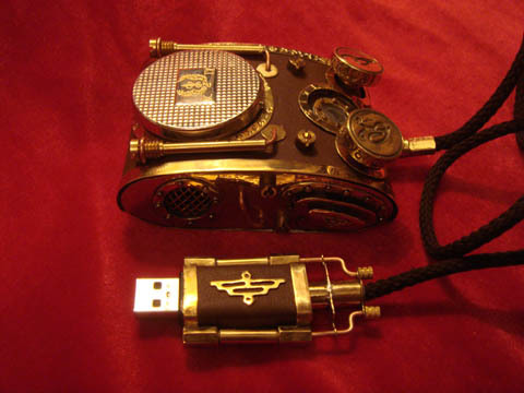 Russian Steampunk Mouse!