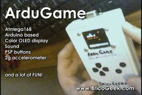 DIY Arduino HACK - How to make an ArduGame - DIY Arduino Game Console!