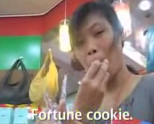 Origins of Fortune Cookie was America?