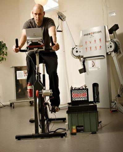 Green Microgym collects Energy from Workouts!