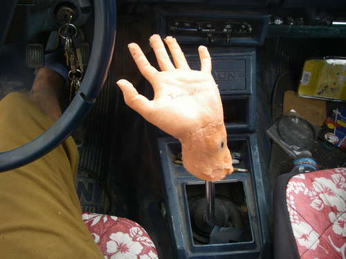 Extra long shifter - S-10 Forum