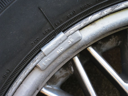 Lead Wheel Weights Must Not Used Anymore!