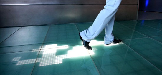 Interactive Multi-touch LED Floor!