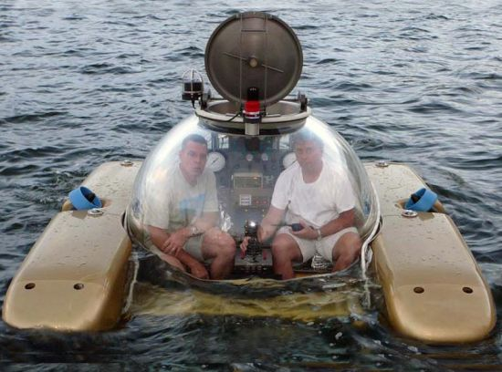 Diy Homemade Submarine Made From Metal Barrels