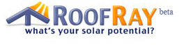 RoofRay lets you calculate your home\'s Solar Power potential!