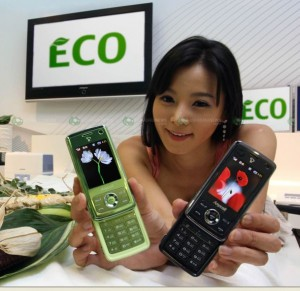 Samsung Eco-Friendly Cellphone made from Corn!