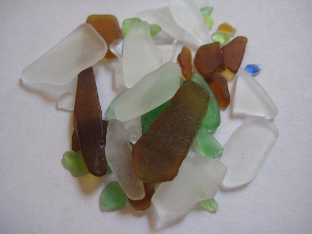 Sea Glass Hunting and Madness