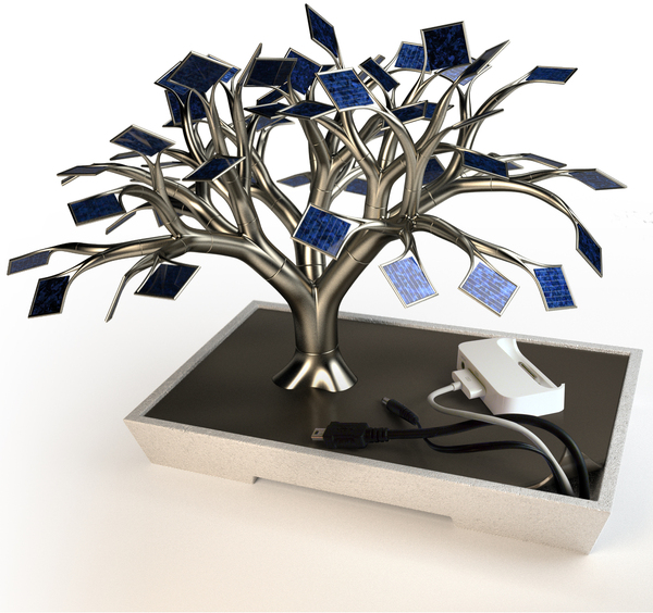 Tree Solar-Charger for your iPhone/iPod Touch!