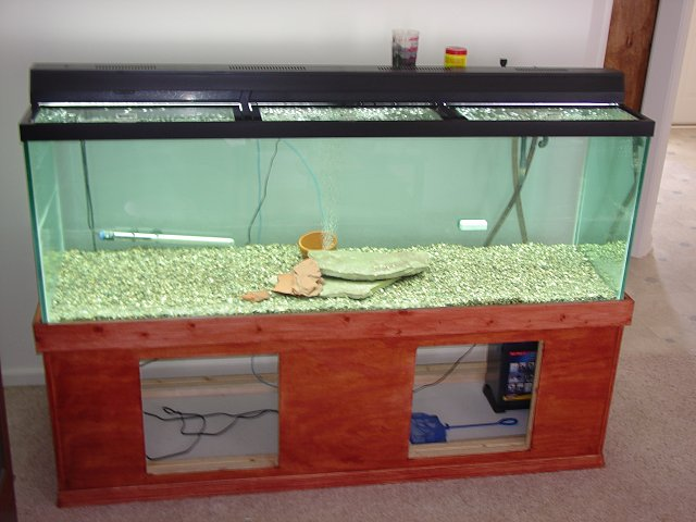 diy how to make your own fish tank stand