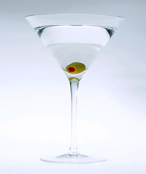 how to make a vodka martini with olives