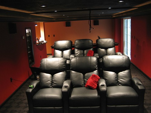 home diy how to build a home theater for your home. Black Bedroom Furniture Sets. Home Design Ideas