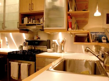 home diy how to make stainless steel backsplash wall for
