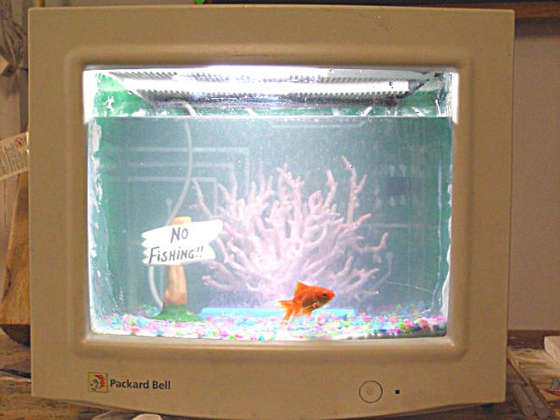 PC Hack How To Turn Your Into A Fish Tank