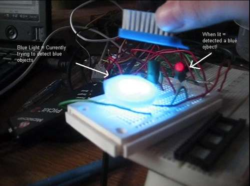 how to make a color changing flashlight