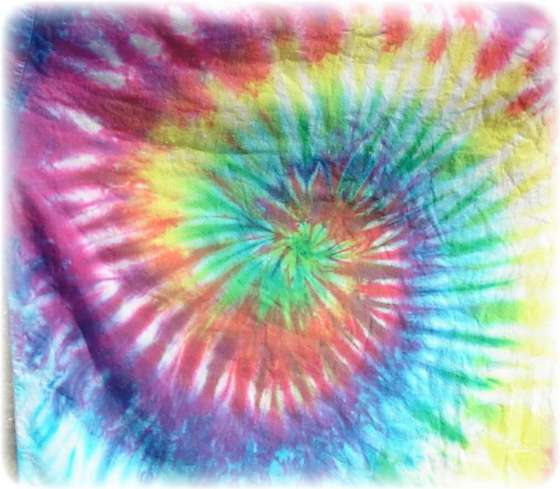 T shirt diy how to tie dye a shirt for Making a tie dye shirt