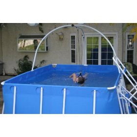 Pool Hack How To Install A 50 Feet Lap Pool In Your Small Yard