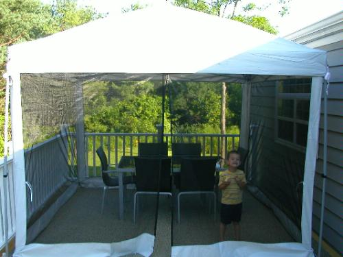 & Swiss Gear 10×10 Dome Canopy with Screen!