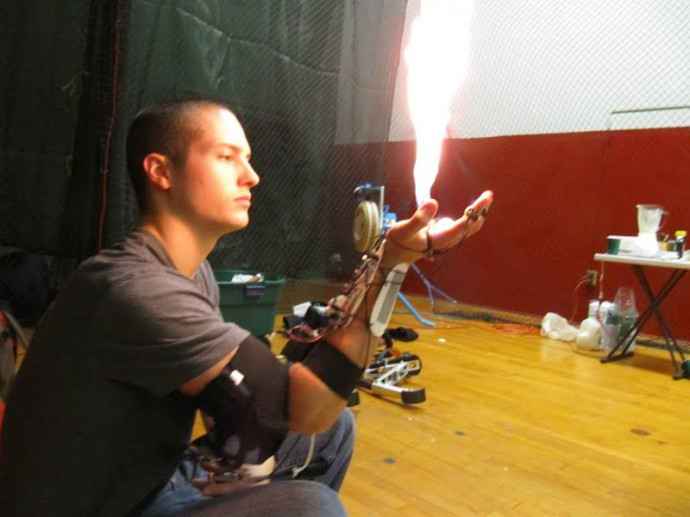 flame-thrower