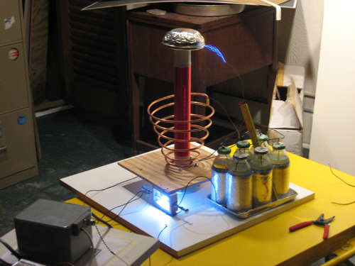 Tesla Coil Diy How To Make A Vacuum Tube Tesla Coil
