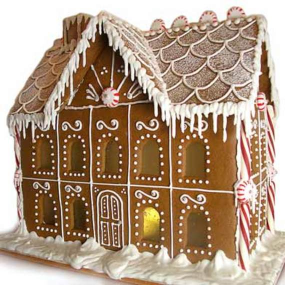 Top 5 video tutorials on how to make a gingerbread house for How to make best gingerbread house