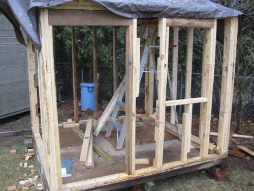 ... How to Build a Children's Playhouse using Pallets and Old Wood