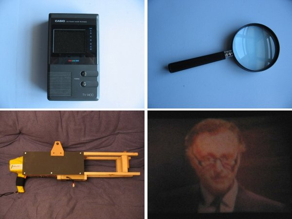 Projector diy how to make a handheld portable projector for Portable handheld projector