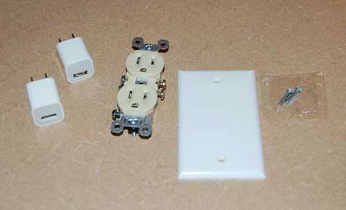 Circuits DIY - How to Make a USB In-Wall Outlet Charger!