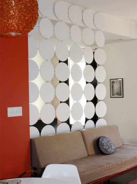 recycle diy how to make a room divider using old vinyl