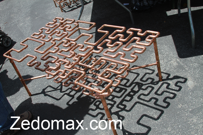 One Response To DIY Copper Pipe Coffee Table And Furniture!