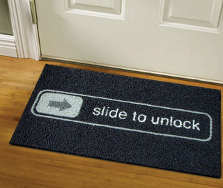 iPhone Doormat