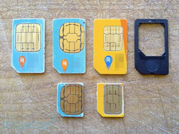 how to cut sim card to micro size